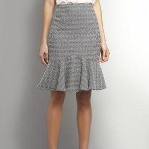 New York & Company Fit & Flare Tweed Pencil Skirt